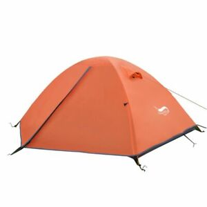 Tent 2 Person Camping Outdoor Waterproof Hiking Handbag Folding Backpacking Dome