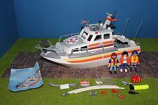 Playmobil bateau de sauvetage 5552 croiseur excellent état