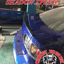 Unpainted P Style Rear Trunk Lip Spoiler Wing For Mazda 3 Axela 2003~09 Sedan  ✪