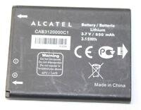 Alcatel CAB3120000C1 Replacement Lithium Battery 3.7V 850mAh for OT-800 OT-710D