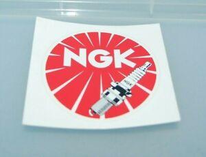 Vintage NGK Spark Plug Sticker