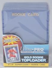 25ct ROOKIE Sports Trading Card Top Loaders: baseball, football, hockey 3x4
