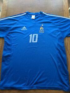 Zidane france shirt