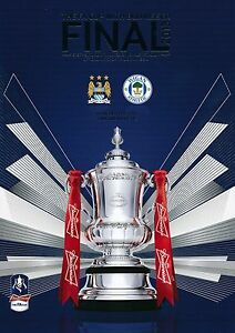 FA CUP FINAL 2013 Manchester City v Wigan Athletic - Official programme
