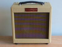 """Alnicomagnet """"Mighty Mo"""" Blues Harp Amplifier New All Valve Tube Tweed Combo"""