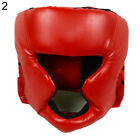 Boxing Martial Face Helmet Head-Guard Headgear Kickboxing Training Protect Tool