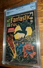 FANTASTIC FOUR #52 **1ST BLACK PANTHER** **KEY ISSUE** 5.0 VG/F CBCS Marvel 1966