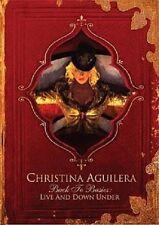 9885 // CHRISTINA AGUILERA BACK TO BASICS LIVE & DOWN UNDER 2 D