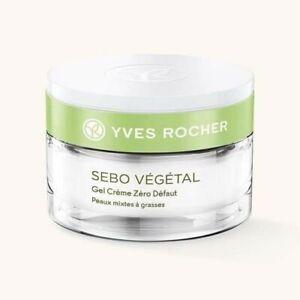 Sebo Vegetal Gel Creme Yves Rocher France 50ML. BRAND NEW SEALED