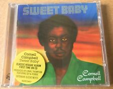 CORNELL CAMPBELL - Sweet Baby - CD Album - Lovers - Reggae