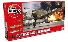 Airfix Curtiss P-40B Warhawk 1:48 Scale Plastic Model Plane A05130