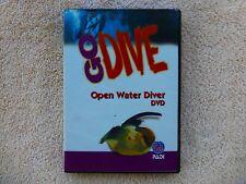 Padi - Go Dive - Open Water Diver - 2 Dvd Set - Discs Nice