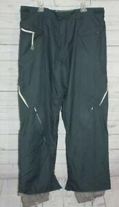 K2 Snow Cyclone Men's Ski Snowboard Pants Gray Hydromatic Size XL
