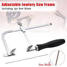 Adjustable Jewellery Piercing Saw Frame 70mm Jewellers Hand Tool w/ FREE Blades
