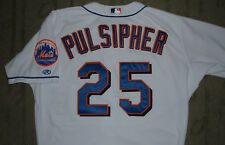 NEW YORK METS BILL PULSIPHER GAME USED WORN JERSEY (RED SOX BREWERS CARDINALS)