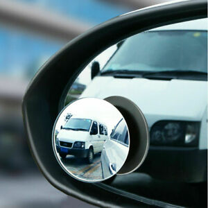 2Pcs Car Auto 360° Wide Angle Convex Rear Side View Blind Spot Mirror Universal