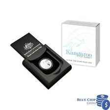 2019 $1 Kangaroo At Sunset Silver Proof Coin
