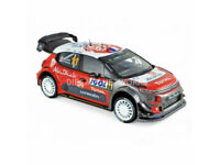 CITROEN   C3  WRC  N° 11 RALLY  CORSE  2018 LOEB / ELENA    NOREV   1/18