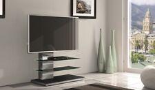 MOBILE MUNARI SY434GE PORTA TV A 55 POLLICI ACCIAIO INOX GRIGIO 2 RIPIANI