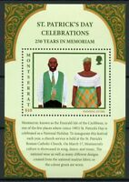 Montserrat Cultures Traditions Stamps 2018 MNH St Patrick's Day Costumes 1v S/S