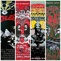 Gig Poster lot,psychedelic poster lot,concert poster lot,art prints signed