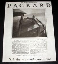 1921 OLD MAGAZINE PRINT AD, PACKARD TRUCKS, SO MANY DIFFERENT KINDS OF HAULING!
