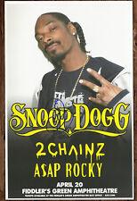 Snoop Dogg autographed gig poster Sensual Seduction