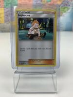SHIPS SAME DAY Pokemon Card NM Sophocles 123/147 Supporter 2017 Uncommon