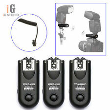 3pcs Yongnuo RF-603 II  Wireless Remote Flash Trigger C3 for Canon 5D 1D 50D