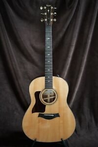 Left Handed Taylor 317e Grand Pacific V Class Acoustic Electric Guitar