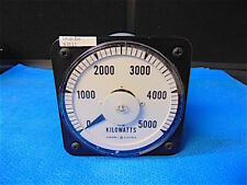 General Electric Ac Kilowatts Gauge 103221Aror7Drc S3111y