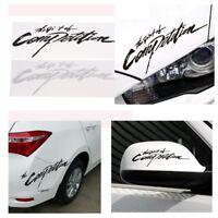 Exquisit Carbon The Spirit of Competition Black Car Sticker Vinyl Decals 3d
