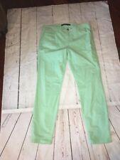 NeW Joe Joe's Ultra Slim Fit Green Corduroy jeans 31 Women's CHELSEA  Ankle