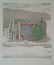 """Henry Moore """"Reclining Figure with Sky Background"""" Original Lithograph S/N"""
