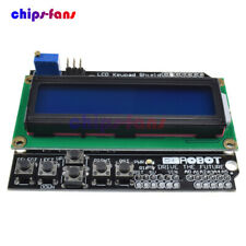 Placa de LCD 1602 Teclado Escudo Azul Retroiluminación Para Arduino Duemilanove Robot Board