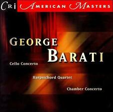 Barati: Concertos (CD, Mar-1999, CRI) NM CON Composer Recordings i combine ship