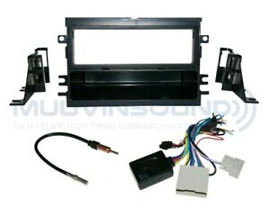 Radio Stereo Installation Dash Kit Combo Single DIN + Interface + Antenna F52