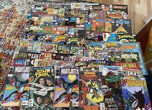 Collection 79 Comic Books: Firestorm 1, Centurions 1, Superman, Groo Grendel Etc