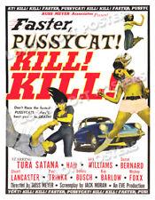 FASTER PUSSYCAT KILL KILL LOBBY CARD POSTER OS-B 1965 RUSS MEYERS TURA SATANA