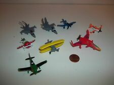 Cake Toppers Mini Disney Planes Lot of 8 PVC Rubber, Cars, Combine Postage