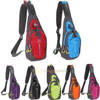 Men's Women Chest Bag Outdoor Sport Travel Shoulder Pouch Sling Hiking Backpack