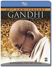 Gandhi (Blu-ray Disc, 2009, 2-Disc Set, 25th Anniversary Edition, B  - Brand New