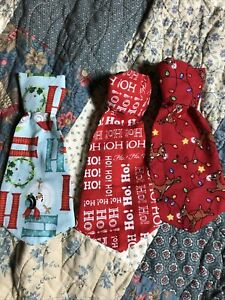 Dog Clothes 3 Lot XL Christmas Tie's