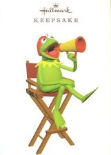 Hallmark 2019 Lights Camera Kermit Muppets Disney Ornament