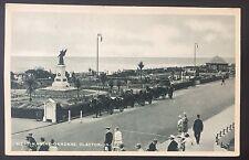 POSTCARD West Marine Gardens CLACTON-ON-SEA Horse Cart PEOPLE Street ESSEX 962