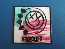 PUNK ROCK HEAVY METAL MUSIC SEW / IRON ON PATCH:- BLINK 182