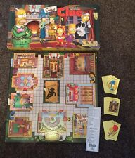 CLUE  - THE SIMPSONS EDITION - FAMILY VINTAGE BOARD GAME 2000 - PARKER BROTHERS