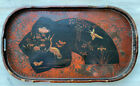 Antique Japanese Lacquered Chinoiserie Tray