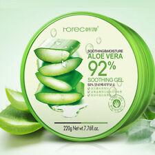 92% Pure Naturel Aloe Vera Gel Bio Apaisant Hydratant Anti-acné Soin de Peau