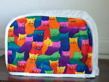 CATS,  2 SLICE APPLIANCE TOASTER COVER,   NEW